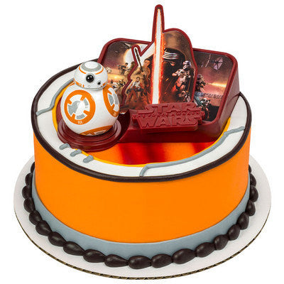 Star Wars 3d cake topper toys