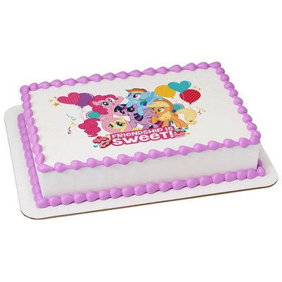 My Little Pony cake topper