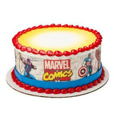 Marvel Comics edible cake toppers