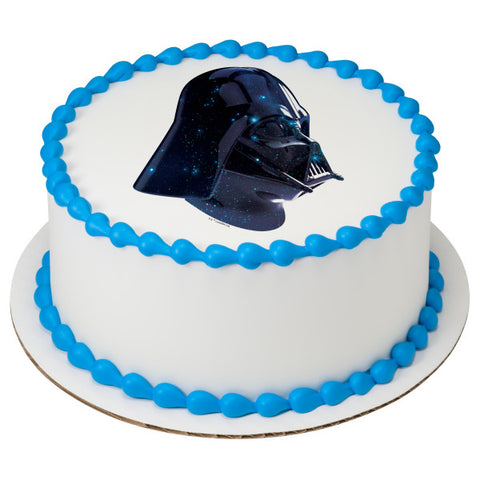 Darth Vader edible cake and cupcake toppers