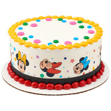 Minnie Mouse edible cake topper