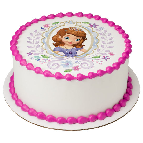 Sofia the First cake toppers
