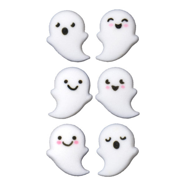 Ghost buddies edible candy toppers