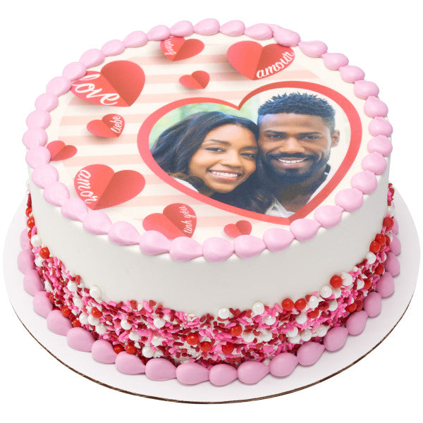 Valentine's Day Cake toppers