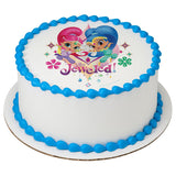 Shimmer and Shine cake topper