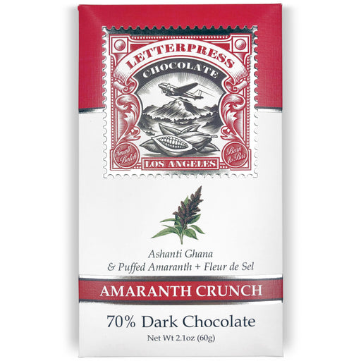 Amaranth Crunch (70% Dark Chocolate)