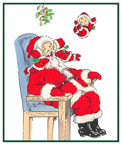 Vintage Christmas Santa Helpers Nimble Nick #41 Counted Cross Stitch Pattern