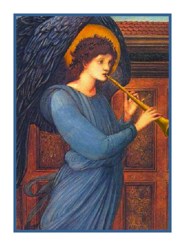 The Angel by Arts and Crafts Edward Burne-Jones Counted Cross Stitch Pattern