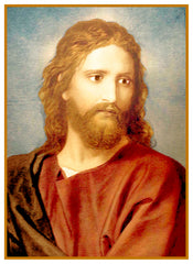 Jesus at 33 by Heinrich Hofmann Counted Cross Stitch Pattern