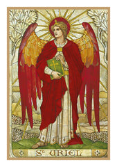 Arch Angel Uriel by Powell and Sons  Counted Cross Stitch  Pattern - Orenco Originals LLC
