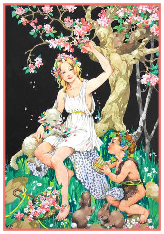 Fairy and Elves Fairy-Tale By  Dorothy M. Wheeler Counted Cross Stitch Pattern