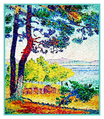 Henri Cross Afternoon Pardigon France Orenco Originals Counted Cross Stitch Pattern