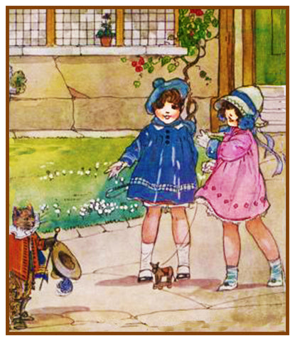 Puss and Boots Fairy-Tale By  Dorothy M. Wheeler Counted Cross Stitch Pattern