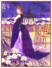 Henri-Edmond Cross Portrait Madame Hector Orenco Originals Counted Cross Stitch Pattern