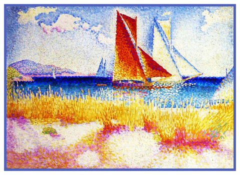 Henri Cross Boats Sail In Regatta Orenco Originals Counted Cross Stitch Pattern