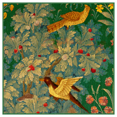 Birds From a  Medieval Hunting Tapestry Counted Cross Stitch  Pattern - Orenco Originals LLC