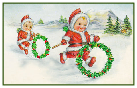 Vintage Christmas Santa Helpers Nimble Nick #29 Counted Cross Stitch Pattern