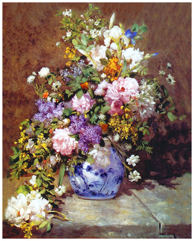 Special Order  Renoir's A Spring Bouquet
