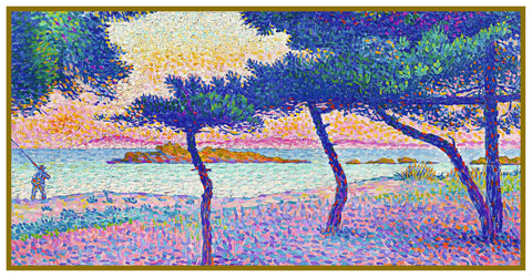 Henri-Edmond Cross Color and Light on Beach Orenco Originals Counted Cross Stitch Pattern