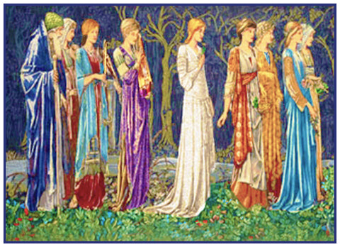 William Morris's and Edward Burne-Jones The Ceremony from the Legend of King Arthur