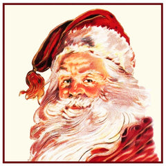 Father Christmas Santa Claus St Nick # 16 Counted Cross Stitch Pattern DIGITAL DOWNLOAD