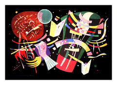 Composition X by Artist Wassily Kandinsky Counted Cross Stitch or Counted Needlepoint Pattern - Orenco Originals LLC