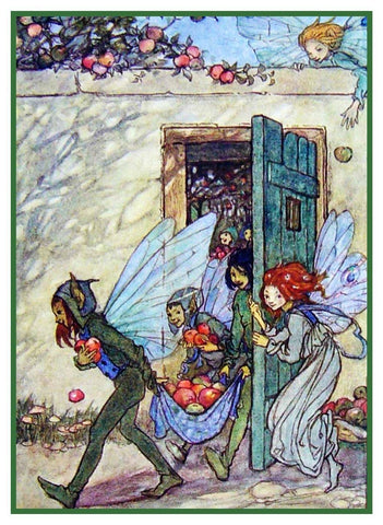 Fairy Mischief Elfin Song Emma Florence Harrison Counted Cross Stitch Pattern