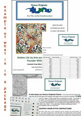 The Yellow Bush by Marianne Von Werefkin Counted Cross Stitch Pattern