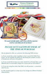 Fairy-Tale Boat of Wishes by Alice Bolam Preston Counted Cross Stitch Pattern