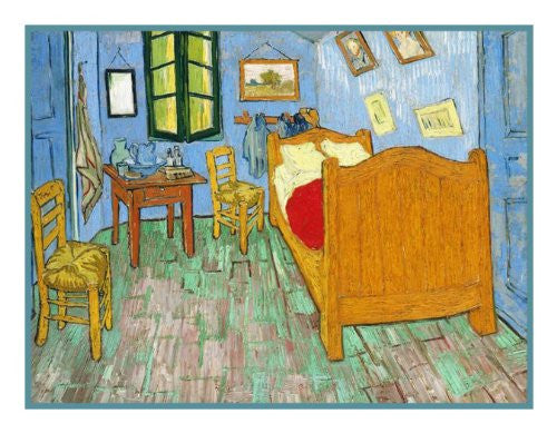 The Bedroom inspired by Impressionist Vincent Van Gogh\'s Painting ...