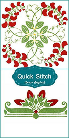 Art Nouveau Designs #3 Quick Stitch Flower 2 Counted Cross Stitch Patterns