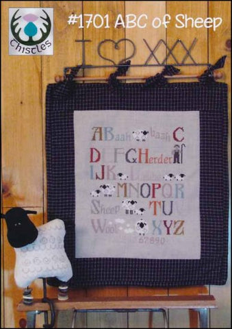 ABC of Sheep by Thistles Counted Cross Stitch Pattern