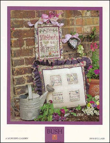 A Mother's Garden By Shepherd's Bush Printworks Counted Cross Stitch Pattern