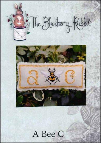 A Bee C by The Blackberry Rabbit Counted Cross Stitch Pattern