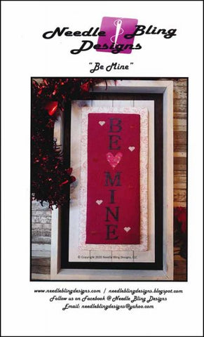 Be Mine by Needle Bling Designs Counted Cross Stitch Pattern