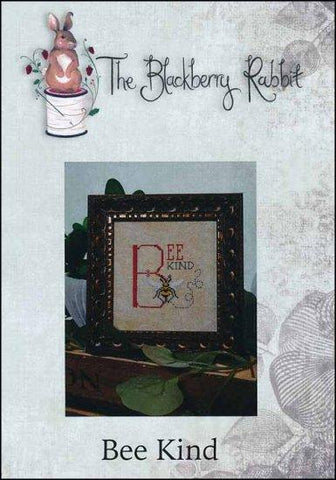 Bee Kind by The Blackberry Rabbit Counted Cross Stitch Pattern