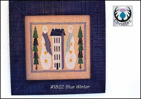Blue Winter by Thistles Counted Cross Stitch Pattern