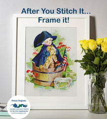 Paul Revere's Ride Dress Up by Maud Humphrey Bogart Counted Cross Stitch Pattern