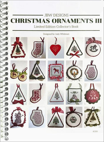 Christmas Ornaments-3 by JBW Designs Counted Cross Stitch Pattern