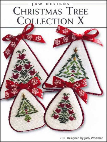 Christmas Tree Collection 10 by JBW Designs Counted Cross Stitch Pattern