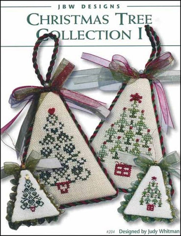Christmas Tree Collection 1 by JBW Designs Counted Cross Stitch Pattern