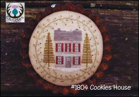 Cookies House by Thistles Counted Cross Stitch Pattern
