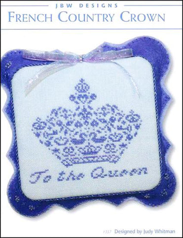 French Country Crown by JBW Designs Counted Cross Stitch Pattern