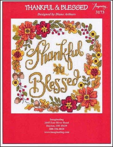 Thankful & Blessed by Imaginating Counted Cross Stitch Pattern