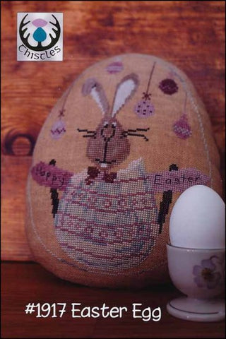 Easter Egg by Thistles Counted Cross Stitch Pattern
