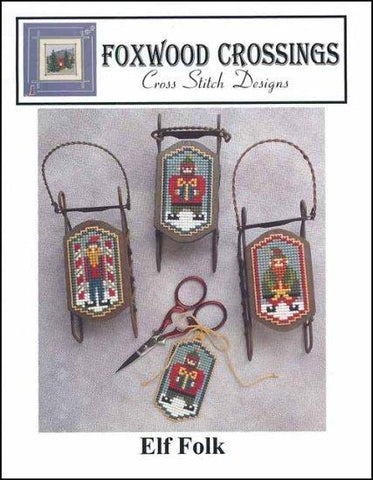 Elf Folk by Foxwood Crossings Counted Cross Stitch Pattern