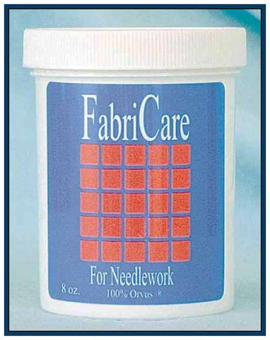 FABRI-CARE. 8 OZ. JAR FABRI-CARE