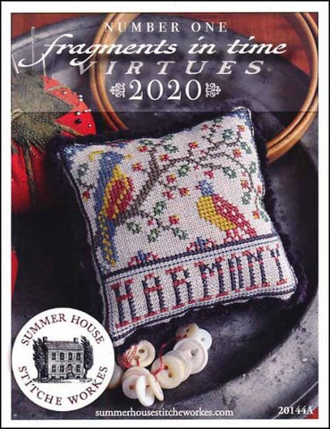 Fragments In Time 2020- Harmony By Summer House Stitche Workes Counted Cross Stitch Pattern