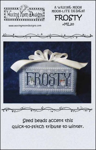 Frosty By Waxing Moon Designs Counted Cross Stitch Pattern