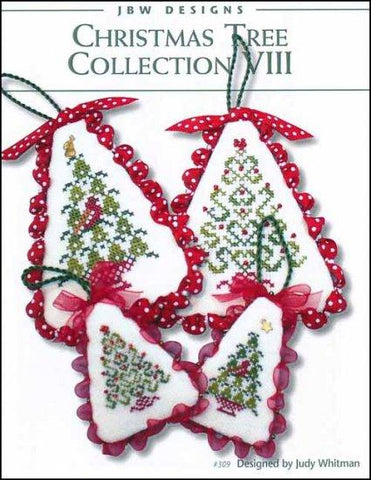Christmas Tree Collection 8 by JBW Designs Counted Cross Stitch Pattern
